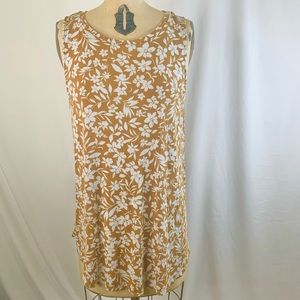 OLD NAVY LUXE BOHO TANK TOP. LARGE.